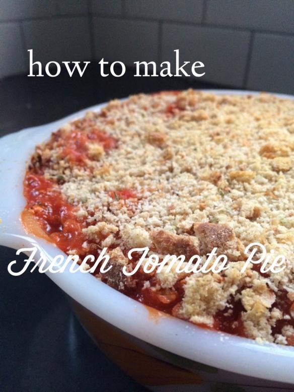 french tomato pie