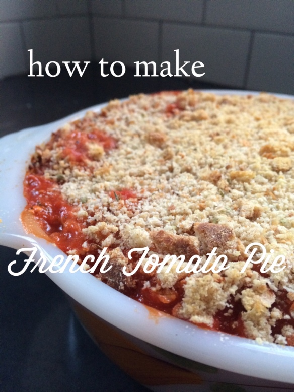 french tomato pie