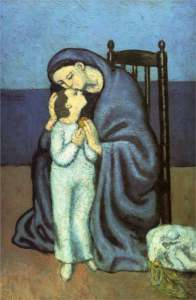 Picasso mother-and-child